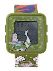Disney Boys Olive Green Digital Watch TSSQ797-01C