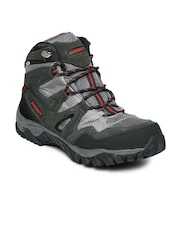 Wildcraft Men Grey & Black Amphibia Track Trekking Shoes