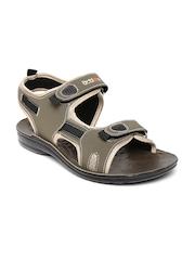 Men Olive Green Sports Sandals Action