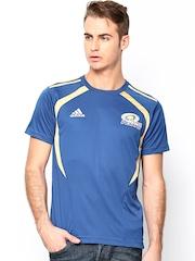 Adidas Men Blue MI13 Fan Cricket Jersey T-shirt
