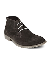 Red Tape Men Coffee Brown Suede Casual Shoes