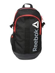 Reebok Unisex Black Delta Backpack