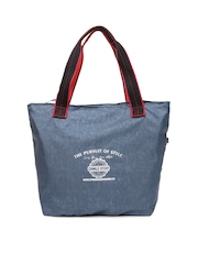 Red Chilli Blue Shoulder Bag