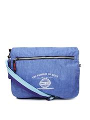 Red Chilli Unisex Blue Messenger Bag