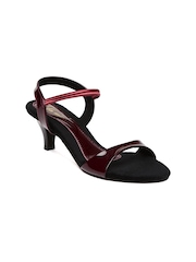 Lamere Women Maroon Heels