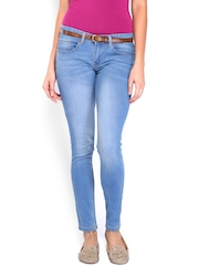 Roadster Women Light Blue Skinny Fit Jeans