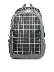 Wildcraft Unisex Grey & Black Backpack