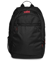 Wildcraft Unisex Genesis Black Backpack
