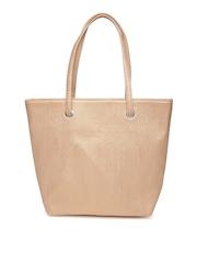 Hotberries Gold-Toned Shoulder Bag