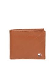 Tommy Hilfiger Men Brown Leather Wallet