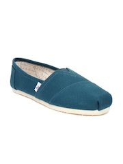 Mast & Harbour Men Teal Green Casual Shoes