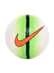 Nike Unisex White & Green Volo Football