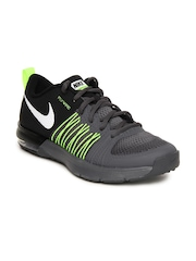 Nike Men Black & Grey Air Max Effort TR Training Shoes