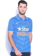 Nike Men Blue ODI SS Stadium Jersey T-shirt