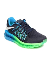 Nike Men Dark Blue Air Max 2015 Running Shoes