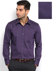 Park Avenue Men Purple Slim Fit Formal Shirt