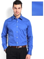 Park Avenue Men Blue Slim Fit Formal Shirt