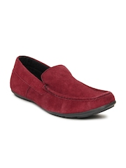 Liverpool Football Club Men Red Loafers