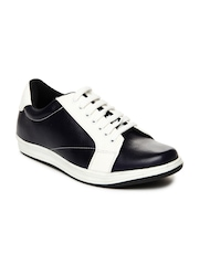 Liverpool Football Club Men Navy & White Casual Shoes