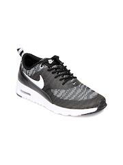 Nike Women Black & White Air Max Thea Casual Shoes