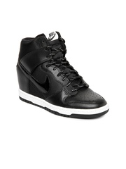 Nike Women Black Dunk Sky Hi Essential Casual Shoes