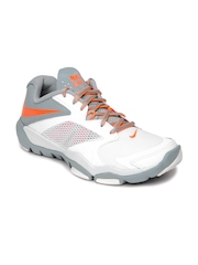Nike Men White and Grey Flex Supreme Tr 3 Training Shoes