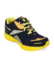 Stylistry Men Yellow & Navy Sports Shoes