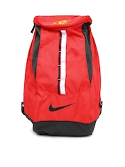 Nike Men Red Allegiance Man U Shield Compact Soccer Backpack