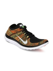 Nike Men Multicoloured Free 4.0 Flyknit Running Shoes