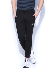 Nike Men Black Slim Fit Track Pant