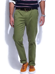 GANT Men Green Soho Narrow Fit Chino Trousers