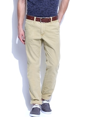 GANT Men Khaki Soho Narrow Fit Chino Trousers