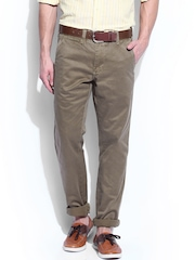 GANT Men Brown Soho Narrow Fit Chino Trousers