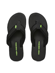 High Sierra Men Black Flip-Flops