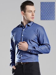 INVICTUS Men Blue Slim Fit Formal Shirt