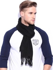 New Look Men Black Scarf