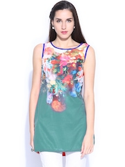 Anouk Multicoloured Printed Kurti