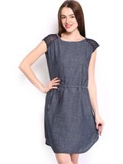 Tokyo Talkies Blue A-line Dress