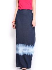 Tokyo Talkies Blue Maxi Skirt