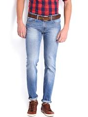 Highlander Men Blue Slim Straight Fit Jeans