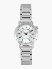 Fastrack Women Silver-Toned Dial Watch 6112SM01