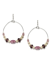 Adrika Pink Drop Earrings