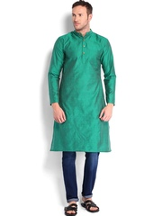 Svanik Men Green Kurta