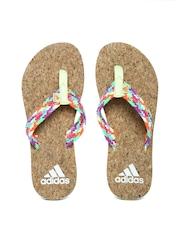 Adidas Women Multicoloured Beach Cork Flip-Flops