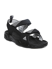 Adidas Men Black Hemis Sports Sandals