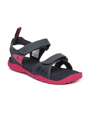 Adidas Women Charcoal Grey Escape Sports Sandals