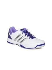 Adidas Women White Response Aspire STR Tennis Shoes