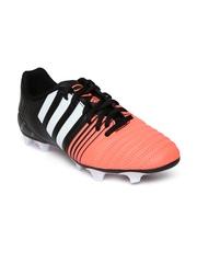 Adidas Men Coral Orange & Black Nitrocharge 4.0 FG Football Shoes