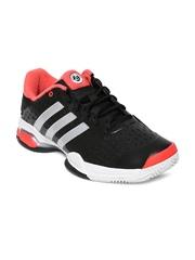 Adidas Men Black Barricade Team 4 Tennis Shoes