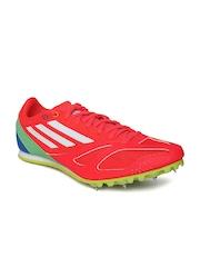 Adidas Unisex Neon Orange Techstar Allround 3 Running Shoes